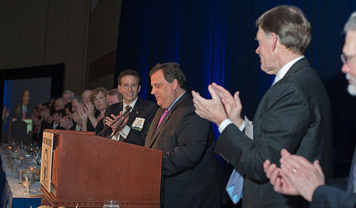 Gov. Christie at the 75th Annual Congressional Dinner