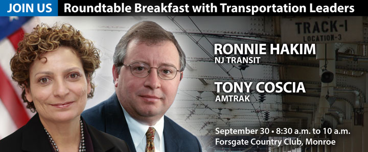 NJ Chamber Roundtable Breakfast - Register Now