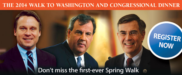 2014 Walk to Washington and Congressional Dinner
