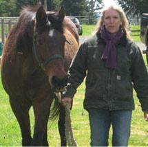 Drea and horse