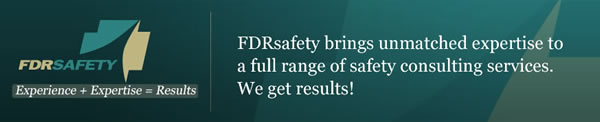 FDRsafety:unmatched expertise to safety consulting services.