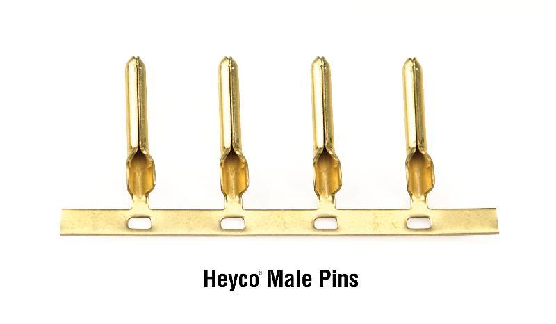 Male Pins