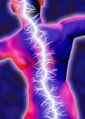 pain back lighting