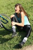 pain knee bike