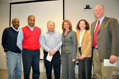 Board members get NCRC star