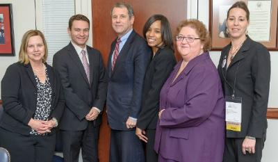 Sherrod Brown and group