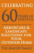 60 yr Arborcare logo