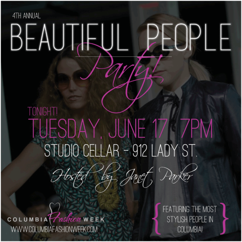 Columbia Fashion Week Starts TONIGHT!