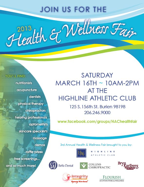 2013 BNI Wellness Fair