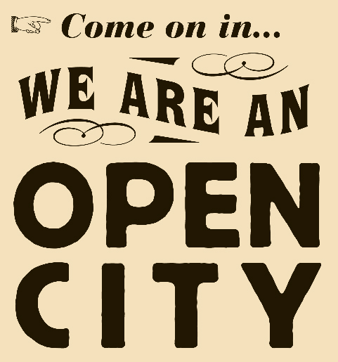 Open City logo