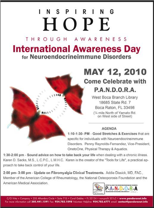 Awareness Day poster 2010