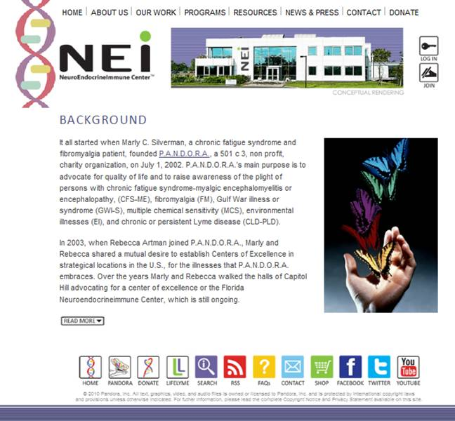 NEI Center About page