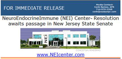 NEI Center press release