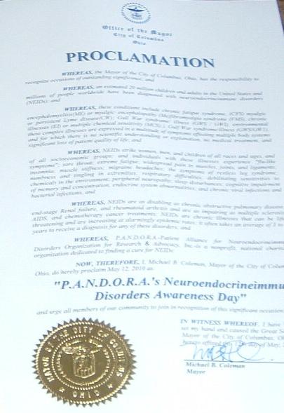 Columbus Proclamation