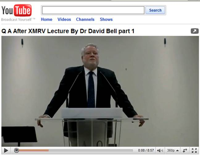 Dr Bell Q&A lecture