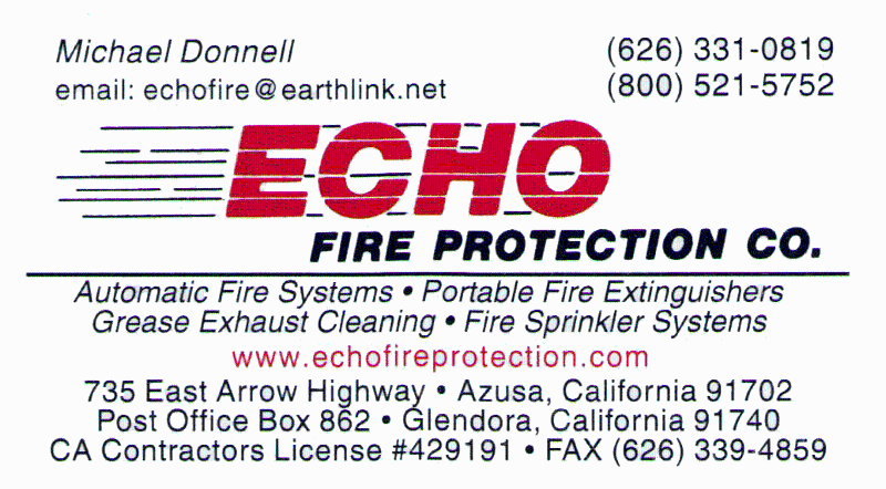 Echo Fire Protection