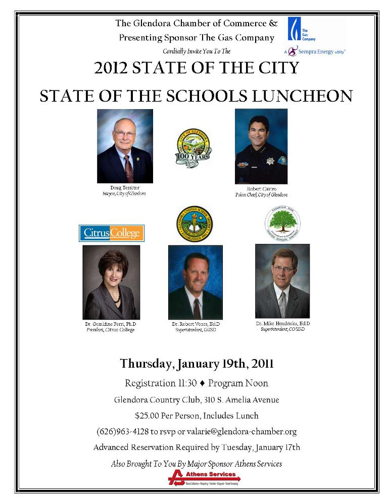 2012 State of the City