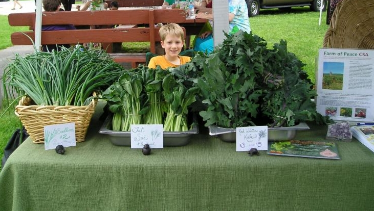 farm booth Boonsboro