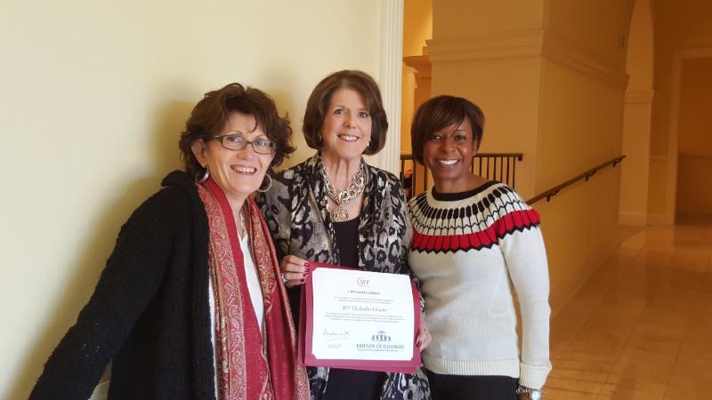 2015 Friend of Diversity certificate
