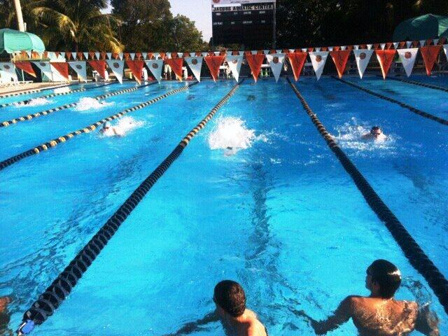 SVY swim team training trip