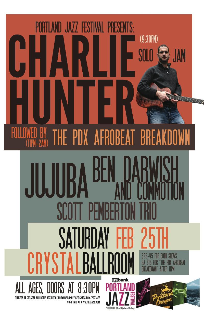 PDX Afrobeat Breakdown flyer