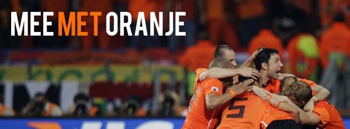 Mee met oranje