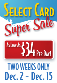 Select Card Sale