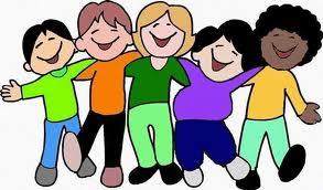 Kids Jumping Cartoon