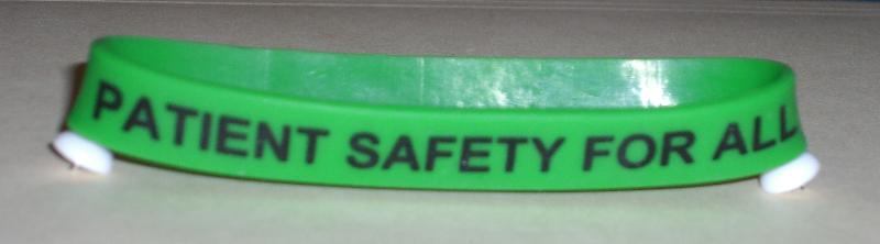 Patient Safety for All Bracelet