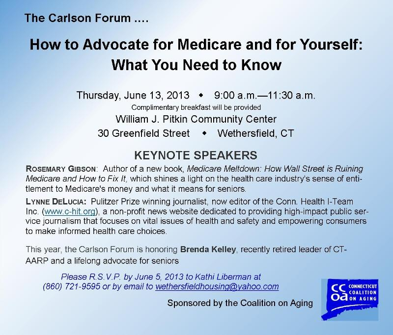 Carlson Forum 2013