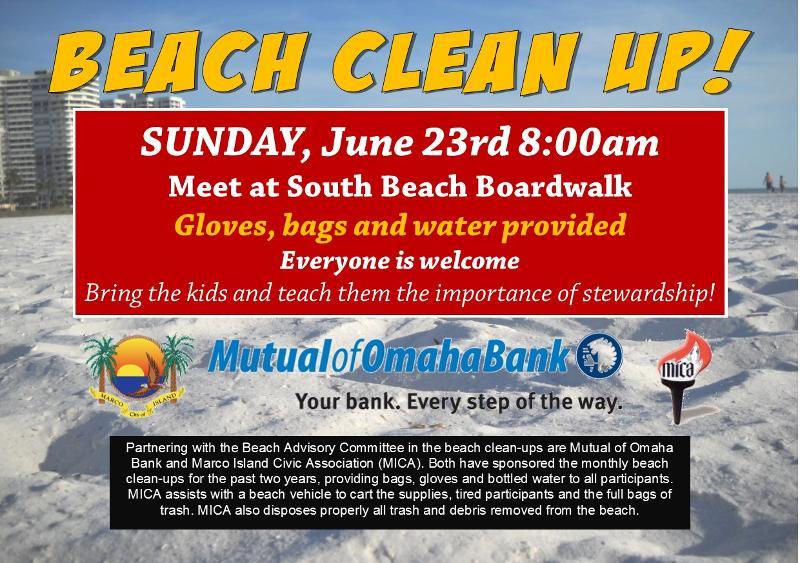 Beach Clean Up June