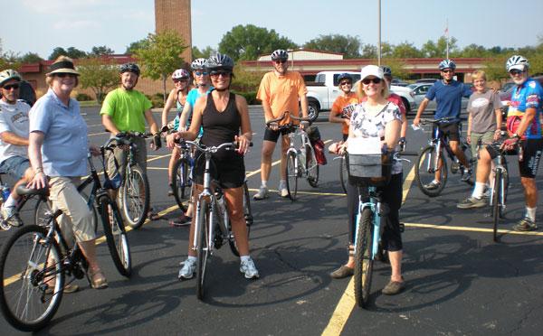 Bike Ride to Union Aug 2012