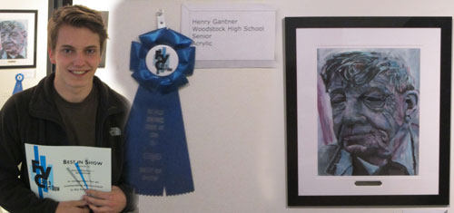 Henry Gantner at FVC Art Show