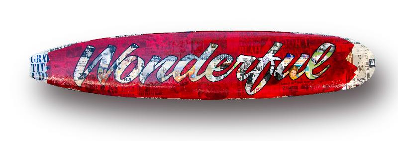 Peter Tunney WONDERFUL Surfboard