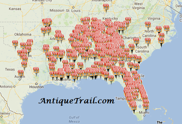 AntiqueTrail.comMap