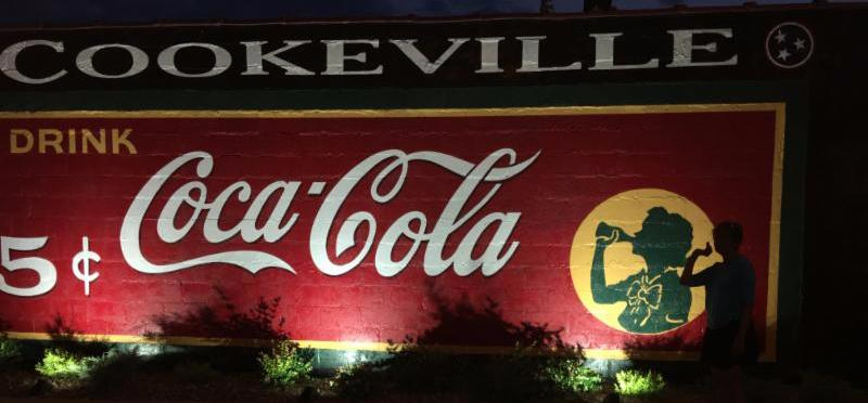 Cookeville coke sign