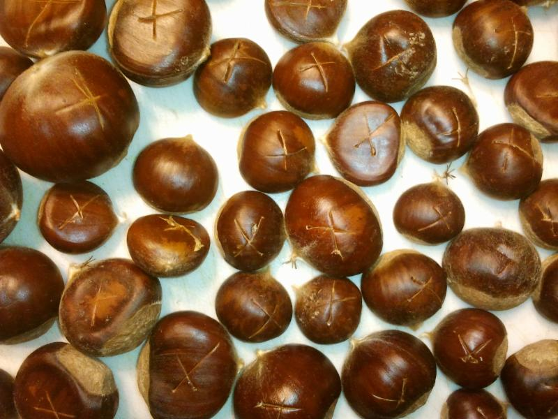 Get a refresher on how to prepare Chestnuts.