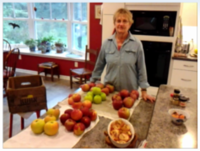 You heard from Dave about cooking apples; here's what Mary Margaret recommends too.