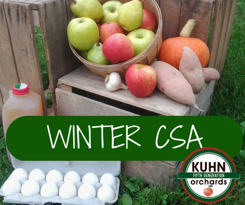 Sign up for the Winter CSA by the 31st and we'll give you $15 to spend in the Web Store this winter!!