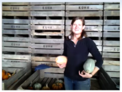 Heirloom Pumpkins 101 with Sidney.  (A YouTube post from last year, but still great info!)