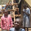Children at an IDP camp in Nairobi, Kenya