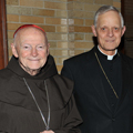 Cardinals McCarrick and Wuerl at the World Care Benefit