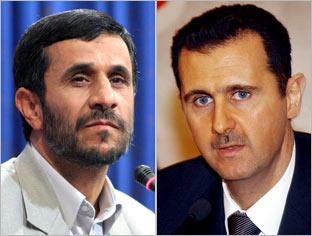Ahmadinejad/Assad