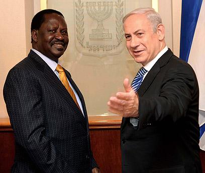 Odinga-Netanyahu