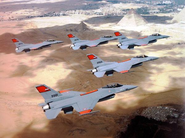 Egyptian F-16s