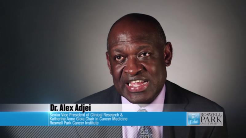 Dr. Alex Adjei video screenshot