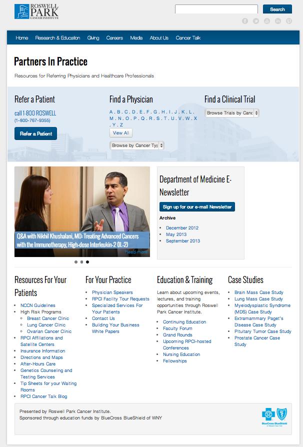 Partners in Practice Website