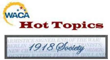 Hot Topics and 1918