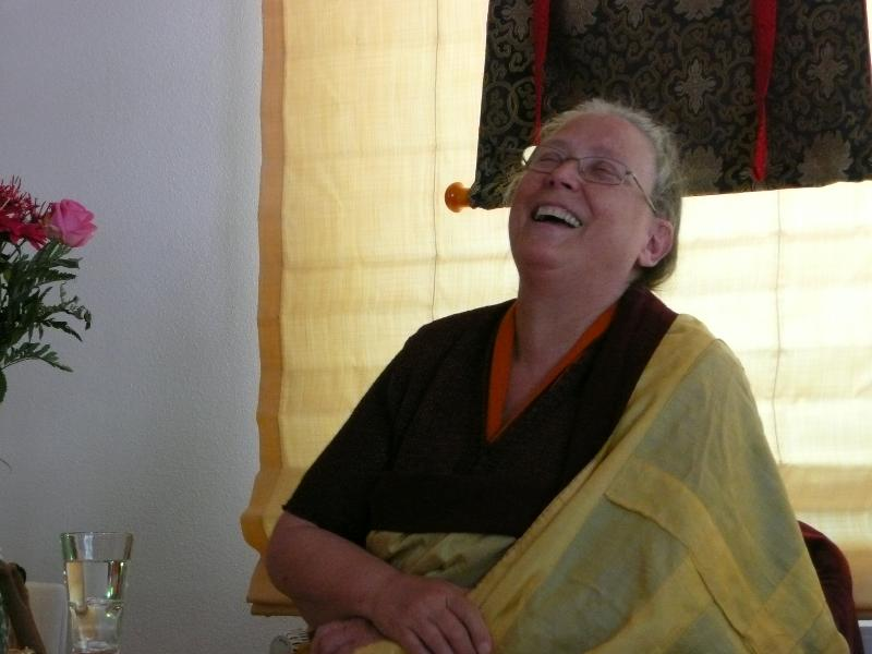 Rinpoche teaching in Germany 2011