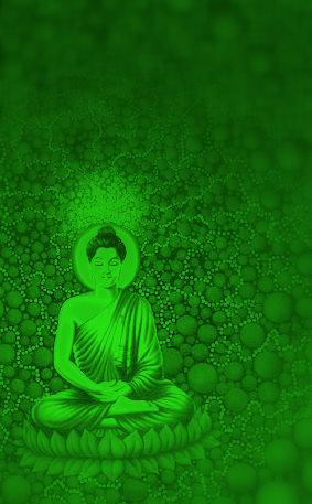 Green Guru Buddha